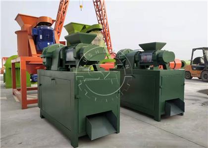 Shunxin Double roller granulator machine for the diammonium phosphate granulation