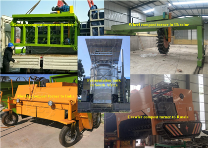 Shunxin Compost equipment to-in different countries
