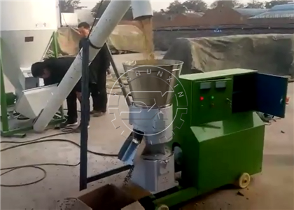 Shunxin Ring Die Granular Fertilizer Making Machine in Vietnam project site