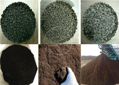 Finished pellet and powder organic fertilizer products feedback from customers plants