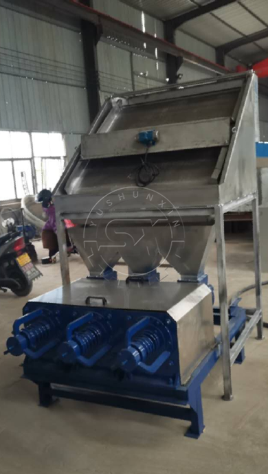 Newly-designed 4-in-1 Type Dehydrator Machine for watery organic materials