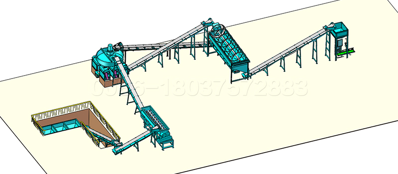 10 to15 ton Compound Fertilizer Production Line