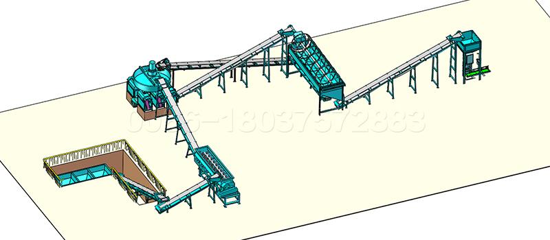 10 to15 ton Compound NPK Fertilizer Production Line