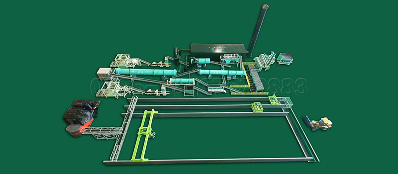 200000 Ton Large Scale Compost Fertilizer Production Line from SEEC