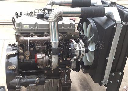 Crawler Type Compost Turning Machine Diesel Engine