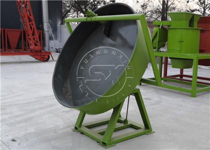 Disc Granulator for Small Scale Organic Fertilizer Plants