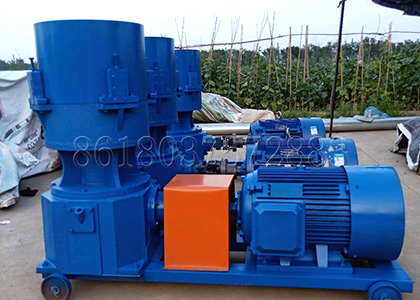 Flat Die Fertilizer Granulation Machine