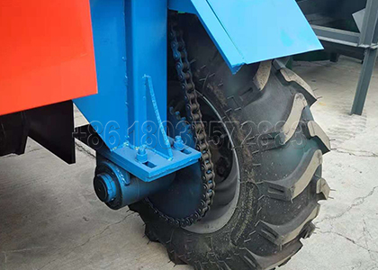 Front Wheel of Movable Compost Turner