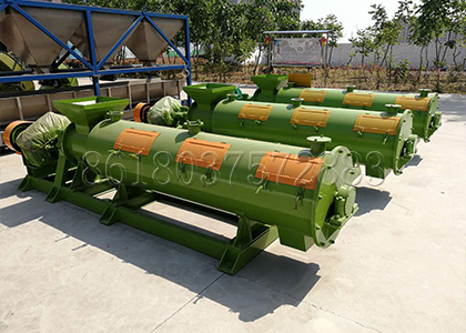 New Developed Fertilizer Granulator for Chicken Manure