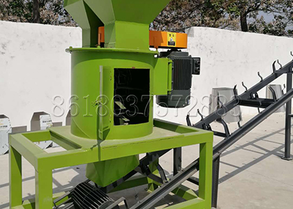 New Developed Vertical Fertilizer Crusher for Chicken Litter Grinding
