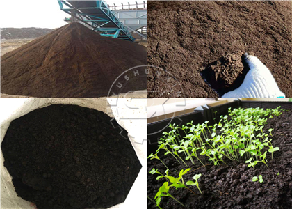 Output from Powder Organic Fertilizer Production Process
