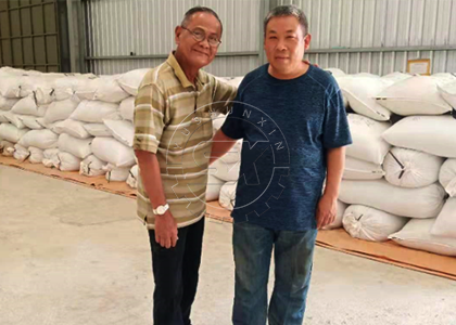 Project engineer of Timor Leste fertilizer company was very happy with the commissioning