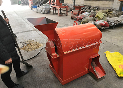 Semi Wet Manure Grinder for Small Chicken Farm