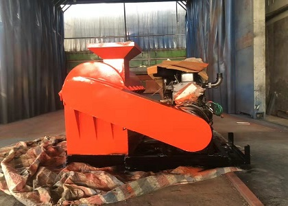 Semi-wet Crusher Diesel Motor for Chicken Manure Grindering
