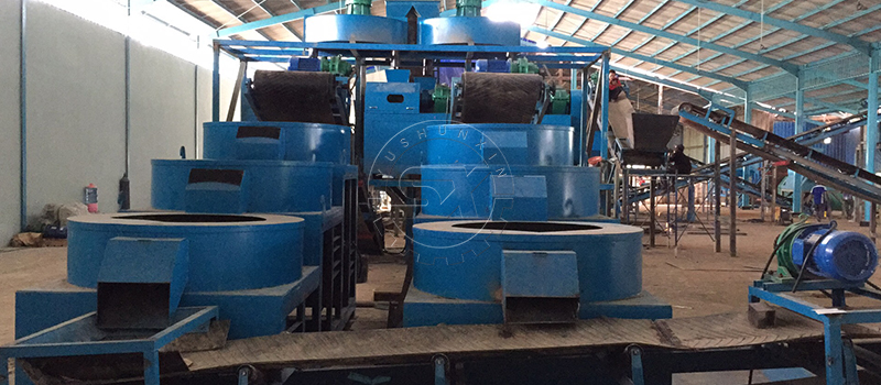 Shunxin Polishing machines matched into NPK fertilizer production to make good looking products