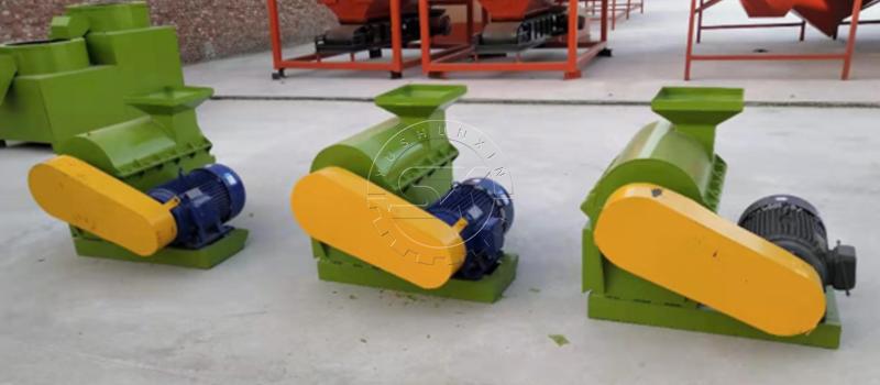 Shunxin Semi-wet Material Crusher crushes organic materials with high moisture