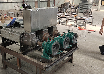 main body of the 3 in one solid liquid separator for cow dung dewatering