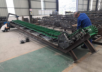 Fertilizer Belt Conveyor for Large Scale Chicken Manure Fertilizer Plant
