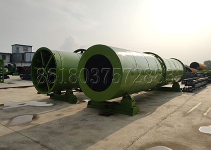 Fertilizer Drying Cooling Machine for Chiken Manure Fertilizer Processing