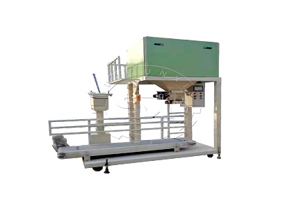 Fertilizer packing machine for chicken litter bagging
