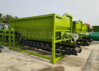 Forlift Feed Machine for Chicken Manure Fertilizer Production Line