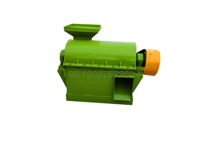 Semi wet fertilizer crusher for chicken manure powder making